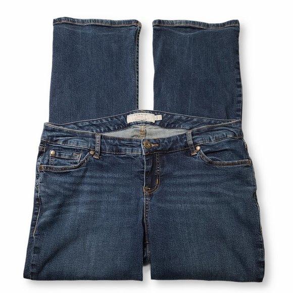Torrid Blue Bootcut Jeans 14S